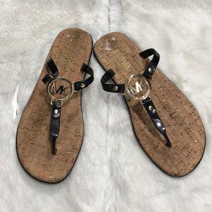 Michael Kors women's sandal size 8M color Balck